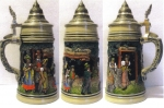 "Thewalt 1893 ""May Dance"" Beer Stein"