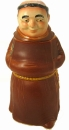 King Bavarian Monk Figurine Beer Stein