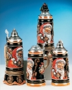 "King ""New World"" Christmas Beer Stein"