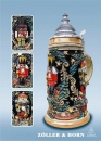 "Zoeller & Born ""Nutcracker Suite"" Beer Stein"
