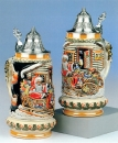 "King ""Santa on Sledge"" Christmas Beer Stein"