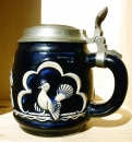 Thewalt Art Nouveau Beer Stein
