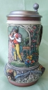 "Thewalt ""Lovers"" Beer Stein"