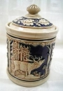 Wildlife Tobacco Jar