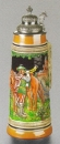"Zoeller & Born ""Trompeter von Bad-Säckingen"" Beer Stein"