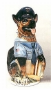 "King ""Police Dog"" Beer Stein"