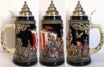 "King ""Leif"" The Red Erikssen Beer Stein"
